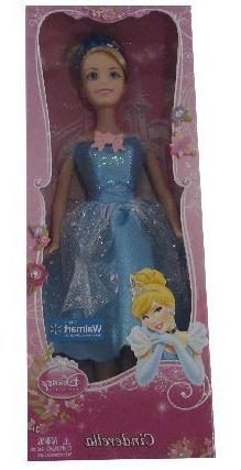 "Mattel Disney Princess Cinderella 12"" Doll, Exclusive"