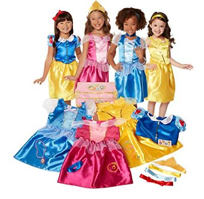 Disney Princess Dress Up Trunk Deluxe 21-Piece