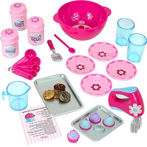 American Girl Doll Furniture - 18 Inch Doll Food Cookware Se