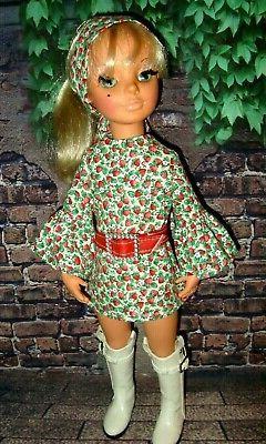 "DOLL CLOTHES __3 pc OUTFIT for vintage 17"" FURGA ALTA MODA """