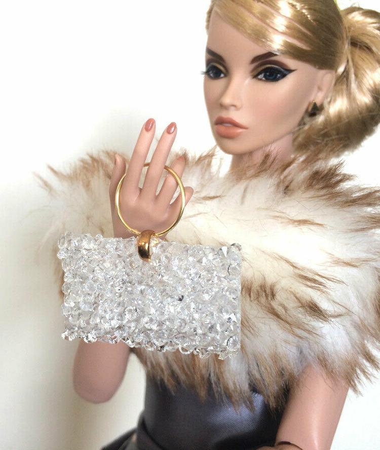 Doll Handbag for Inch Purse Fashion Dolls, Purse