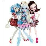"NEW Mattel 11"" Doll Monster High 3 Pack Dot Dead Draculaura"