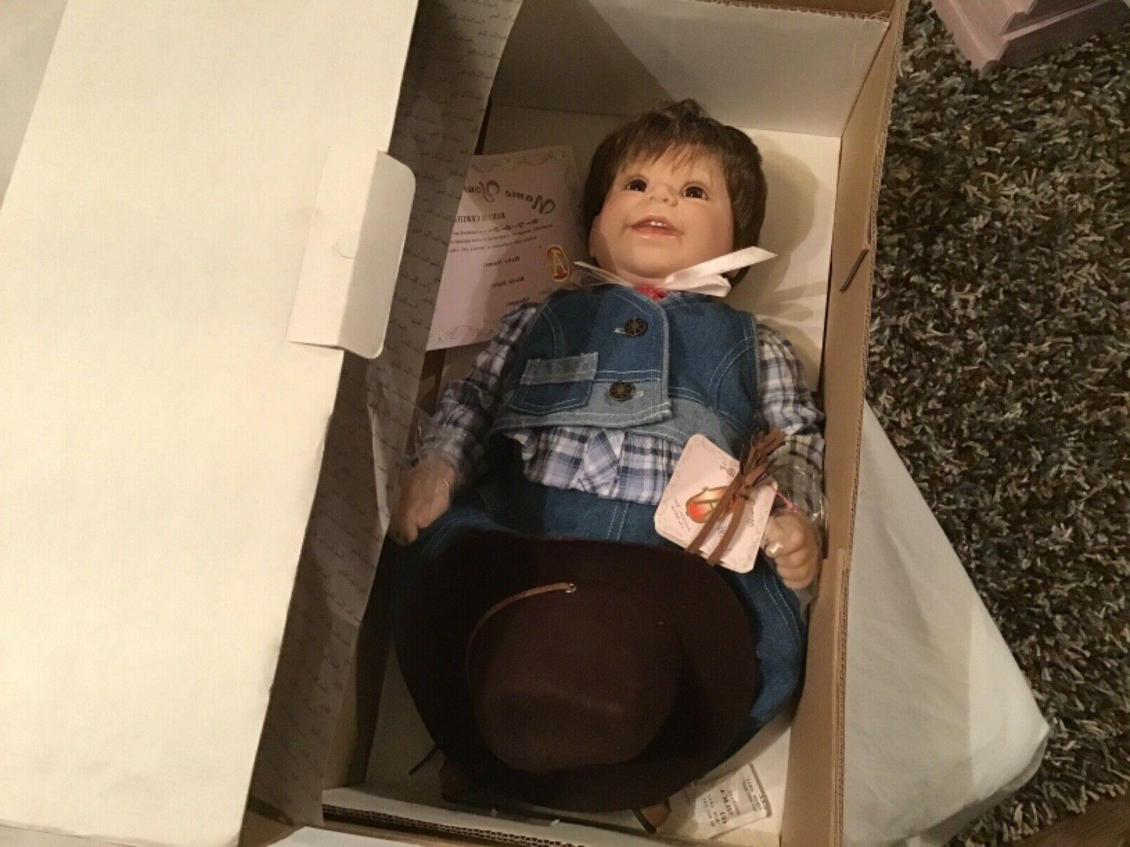 doll name your own baby cowboy new