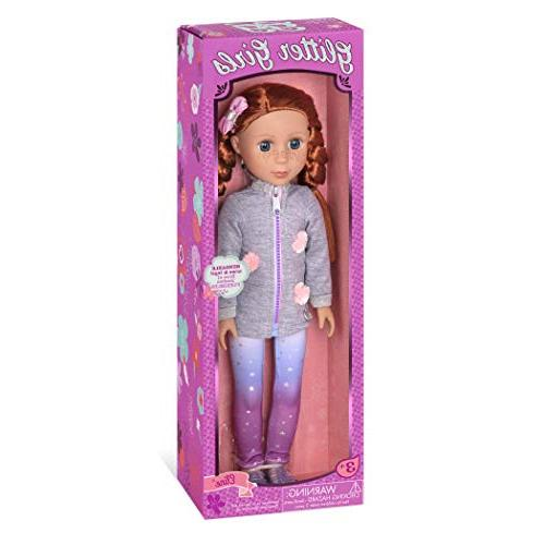 Glitter Dolls by Battat Poseable Fashion Dolls for Girls Age 3 and