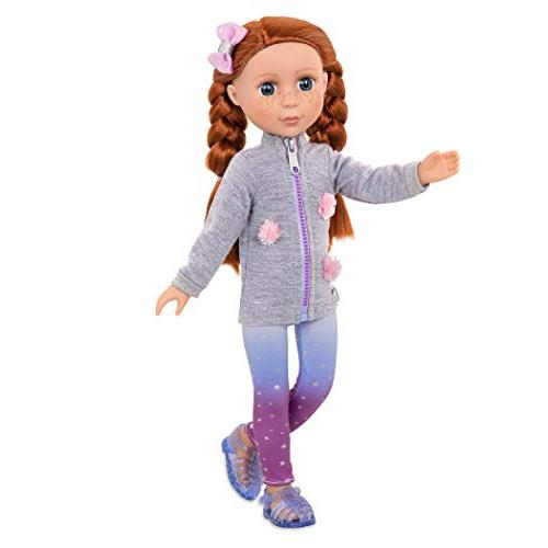 Battat - 14-inch Poseable - Dolls for 3 Up
