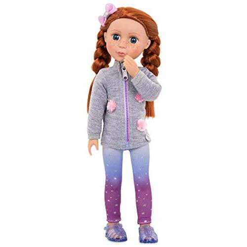 Glitter Battat - Eline Poseable Fashion Dolls for 3 and
