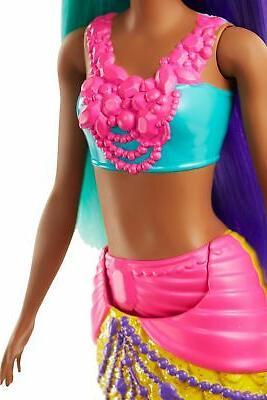 Barbie Mermaid 12-inch, Teal and Hair