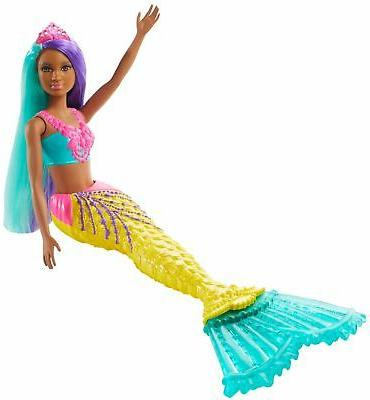 Barbie Dreamtopia Mermaid 12-inch, Teal and Hair
