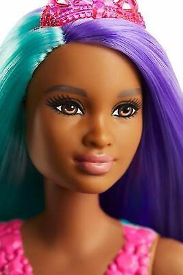 Barbie Mermaid 12-inch, Hair