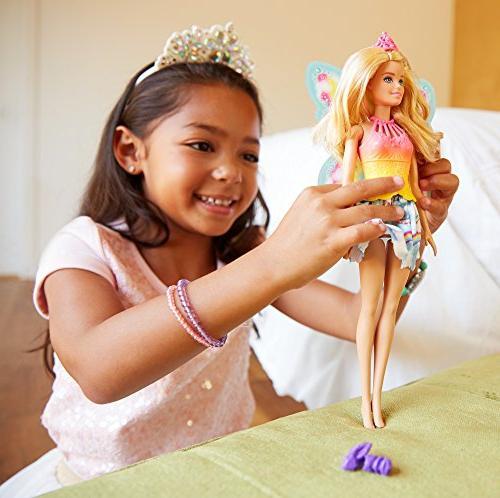 Barbie Fairytale Dress Up Set, Blonde
