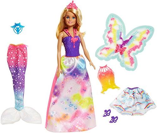 Barbie Dreamtopia Cove Fairytale Dress Up Blonde