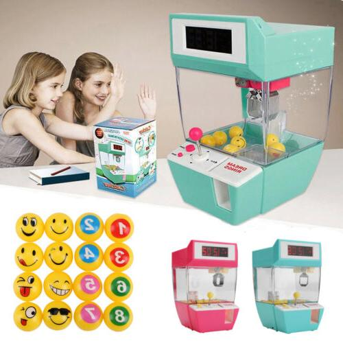 electronic doll catcher claw machine coin operated