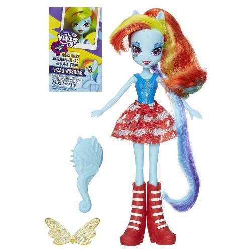 equestria rainbow dash doll