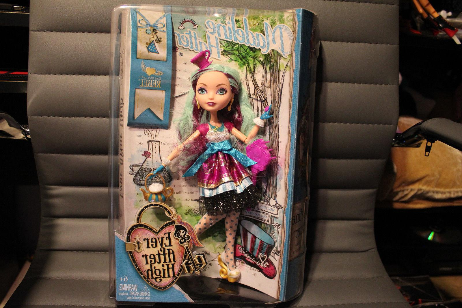 ever after high madeline hatter first chapter