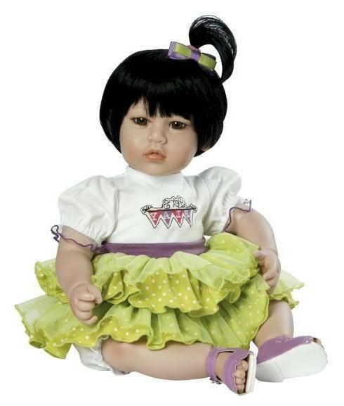 "Adora Dolls, Twist of Lime - 20"" Doll with Black Hair/Brown"