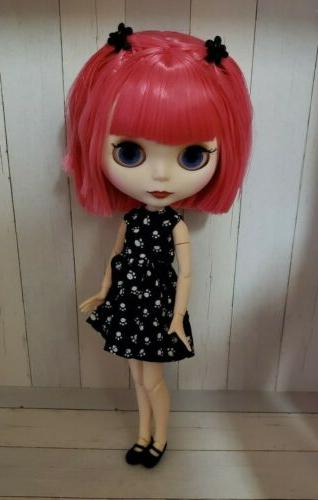 Factory Doll Pink Jointed, Outfit, Stand