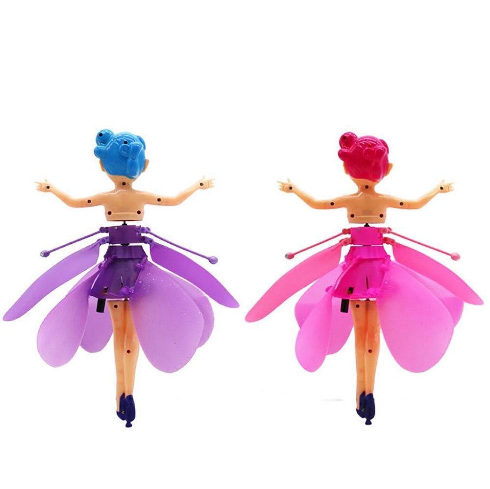 Fairy <font><b>Doll</b></font> New Flower Fairy Flying Sensing Kids xmas Gift