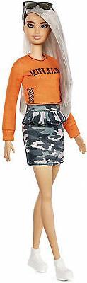Barbie Fashionista Doll 107 Malibu Camo Kid Toy Gift