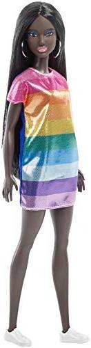 Barbie Fashionistas Rainbow Sparkle Doll