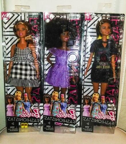 Barbie Fashionistas Rockstar Glam Doll