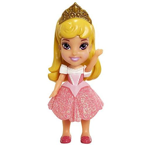 My First Disney Princess 3Mini Toddler Doll - Aurora Sparkle