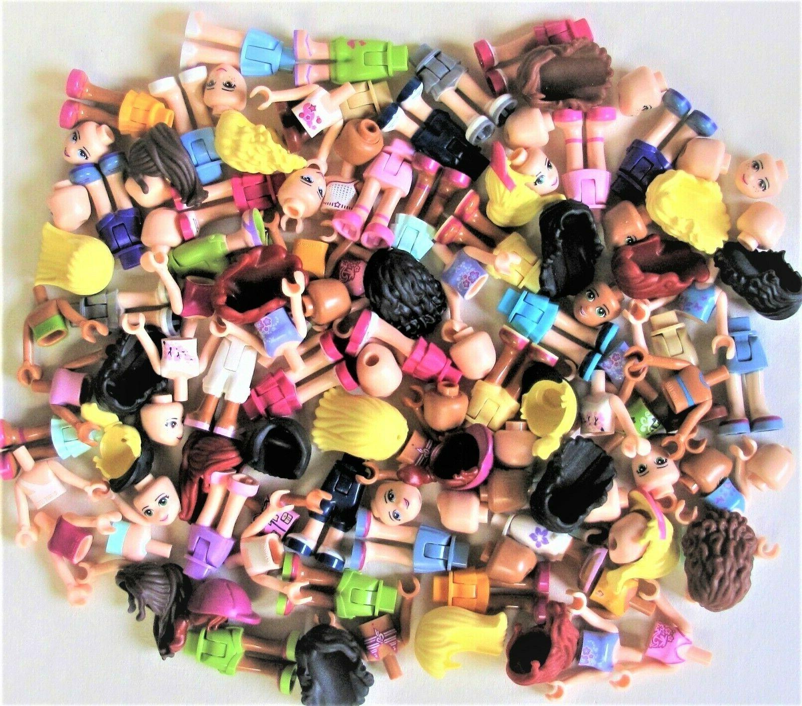 friends huge bulk minifig parts lot u