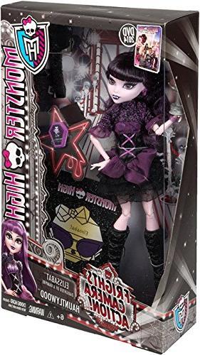 Monster High Frights, Camera, Action! Elissabat Doll, New, F