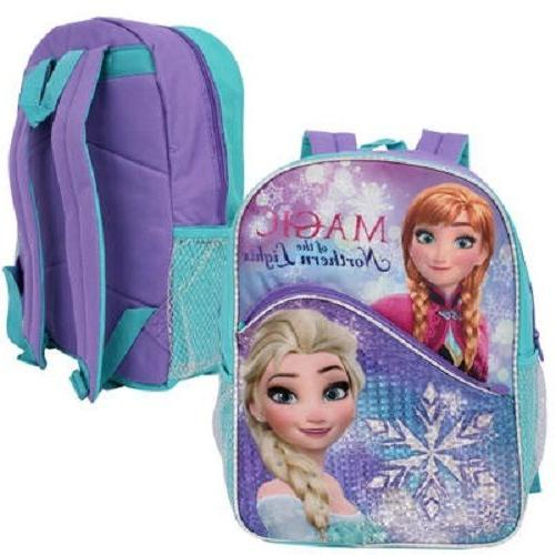 Disney Frozen Elsa, Anna & Olaf Just Chillin'16Backpack with