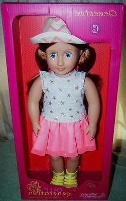 Our Generation CLEMENTINE Red Blue Eyes Doll New