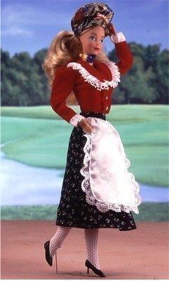 German Barbie 1986  #3188 Germany DOTW Dolls of the World