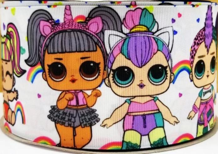 grosgrain unicorn lol dolls 3 inch printed