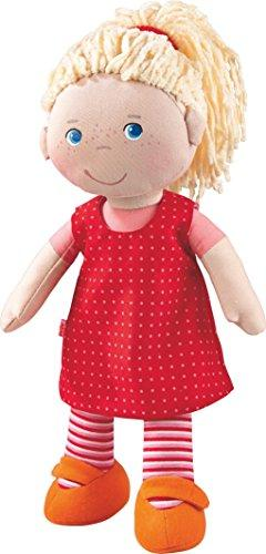 "HABA Annelie 12"" Soft Doll with Blonde Hair and Blue Eyes"