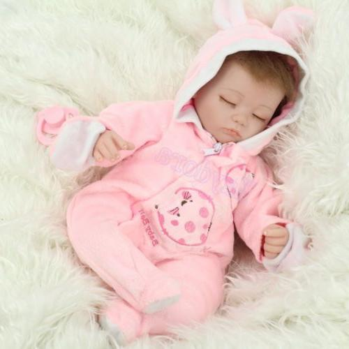 Handmade Sleeping Vinyl Reborn Baby
