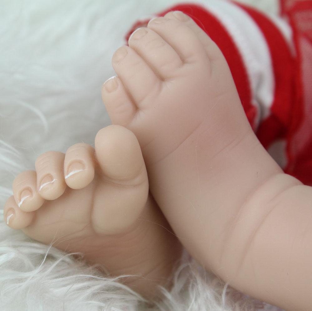 Handmade Reborn Newborn Gift Lifelike Vinyl Baby Dolls