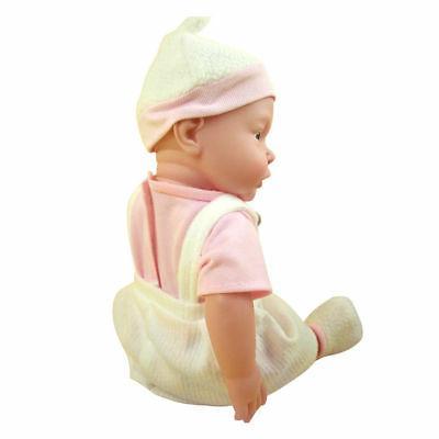 """Handmade Baby 17"""" Lifelike Vinyl Girl Doll"""