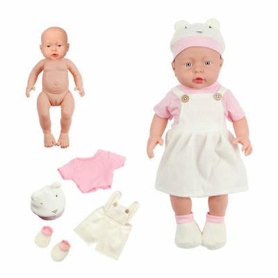 "Handmade 17"" Babies Vinyl Silicone Girl"