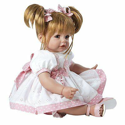 Baby Doll Birthday Baby Sandy Hair / Blue