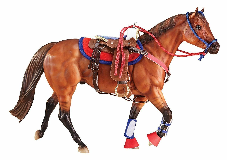Breyer Horse Accessory Traditional Western Riding Set Saddle