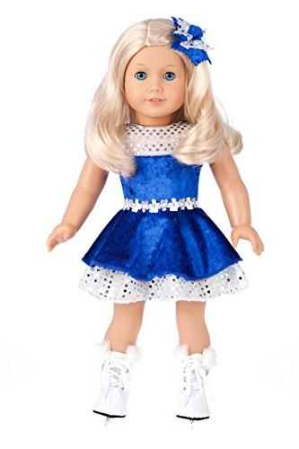 Ice Dancer - Clothes for 18 inch American Girl Doll, Ice Ska