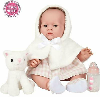 JC Toys, Lily Baby Doll Girl Coat and