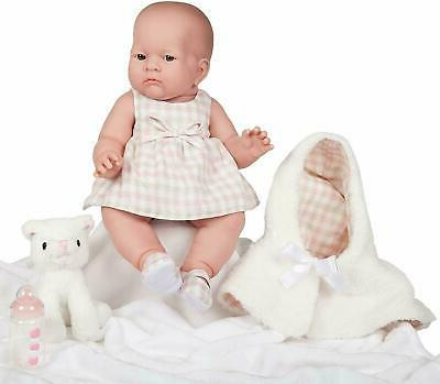 jc toys lily baby doll 18in all