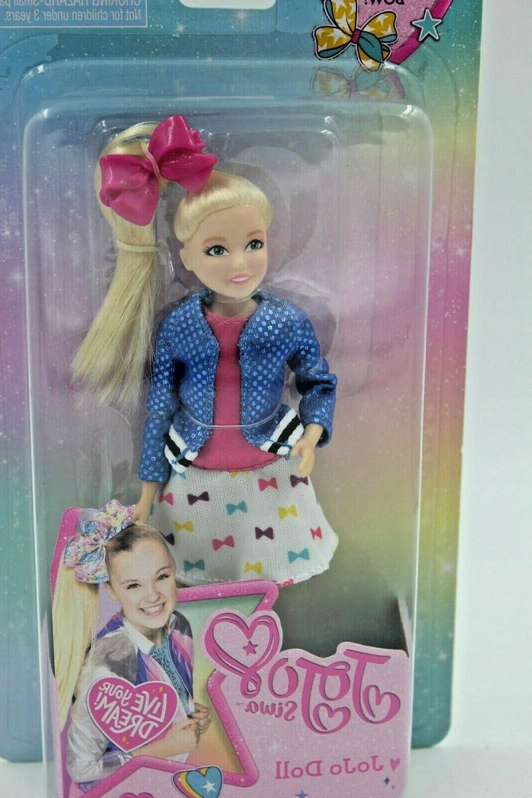 "JoJo Doll Nickelodeon W/ & Share 6"" New.Signature doll"