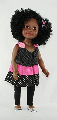 Kayla a Curly Girls United Doll