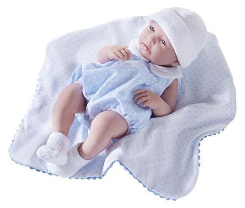 "JC Toys La Newborn - Realistic 17"" Anatomically Correct ""R"