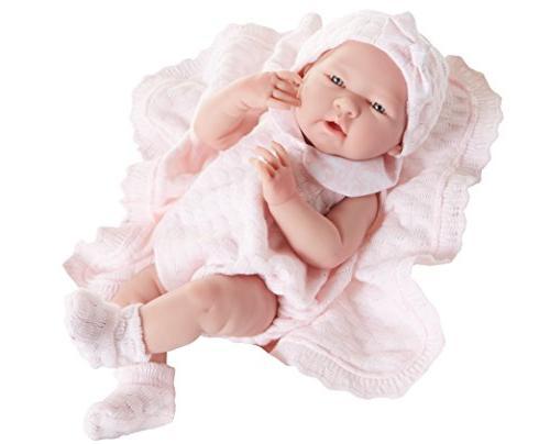 15 Inch La Newborn Pretty Pink