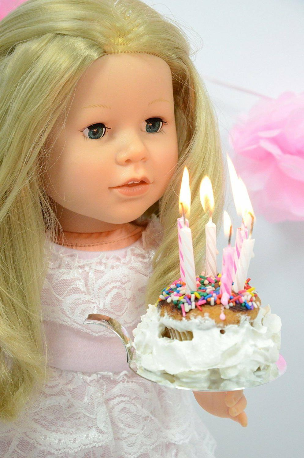 lace birthday dress for american girl dolls