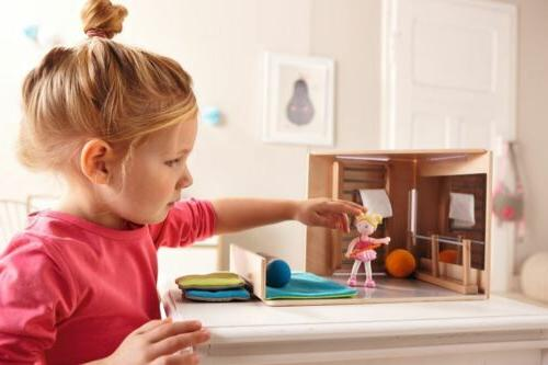 HABA - Ballerina Doll Pigtails
