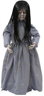 Life Size Lil Sweet Vengeance Animated Haunted Doll Hallowee