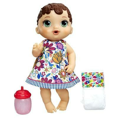 lil sips brunette doll