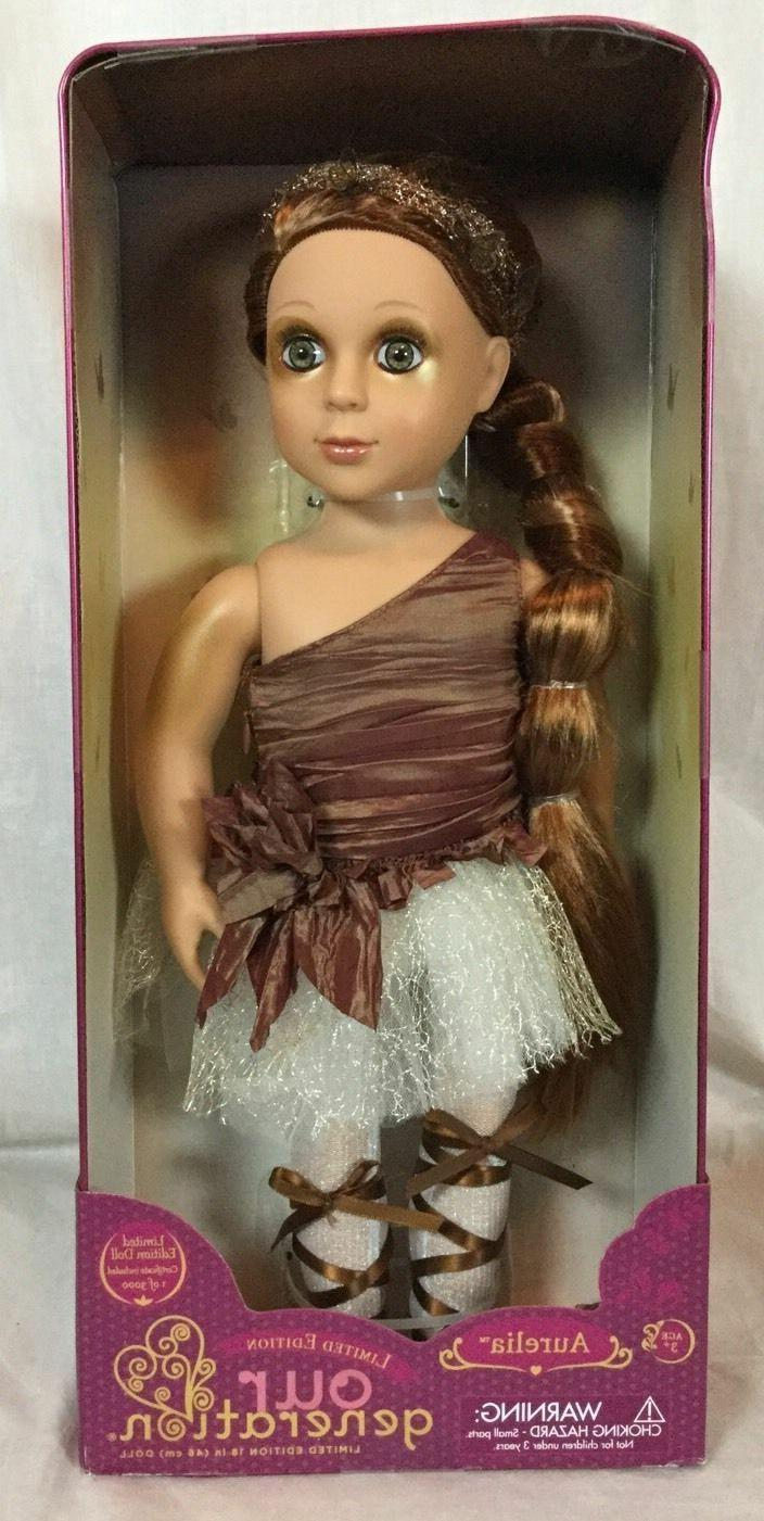 limited edition target our generation doll aurelia